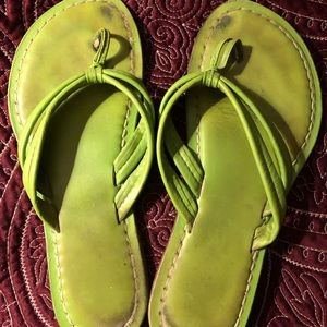 Bernardo Shoes - Lime Green Bernardo's sz 9